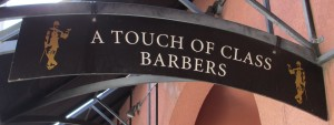 Touch of Class Sign